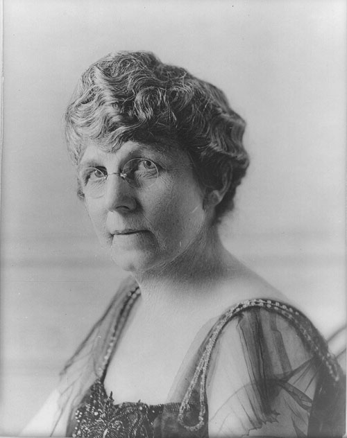First lady Florence Harding.