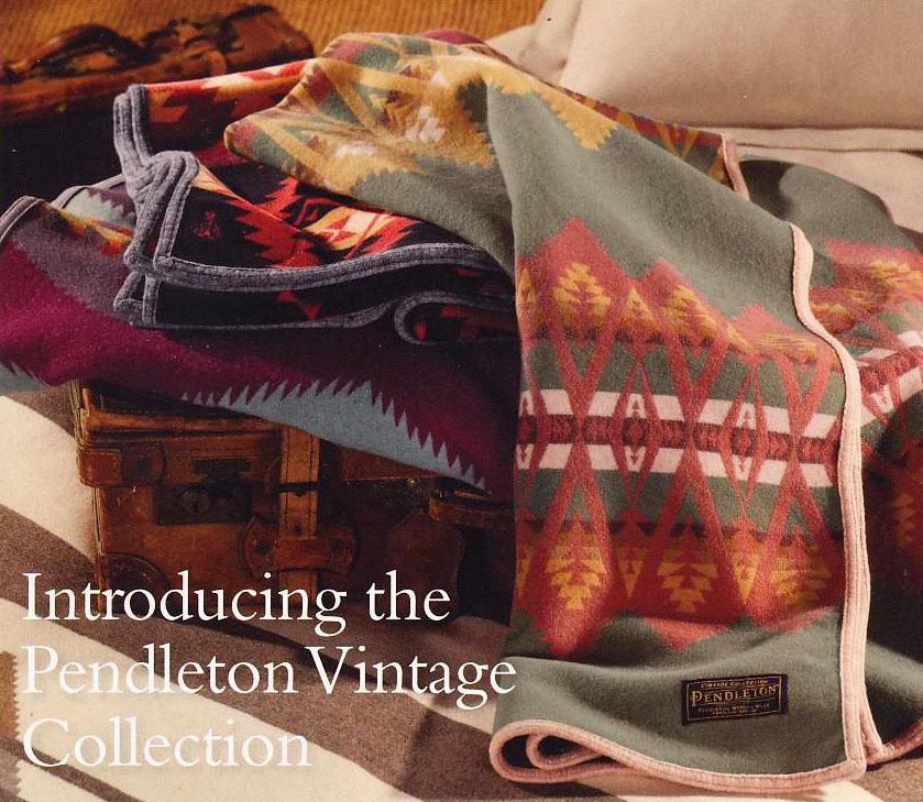 Poster for the Pendleton Vintage COllection