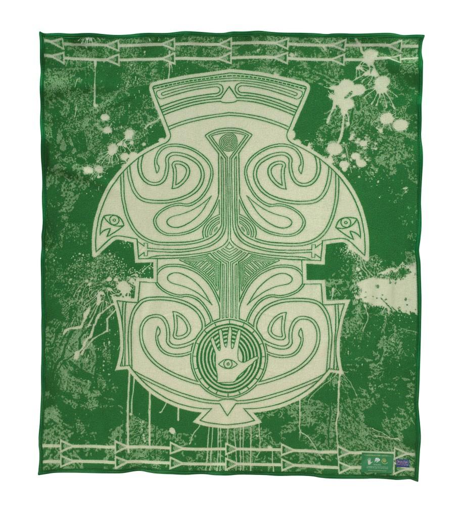 Spring, a legendary Series blanket designed by Dustin Mater