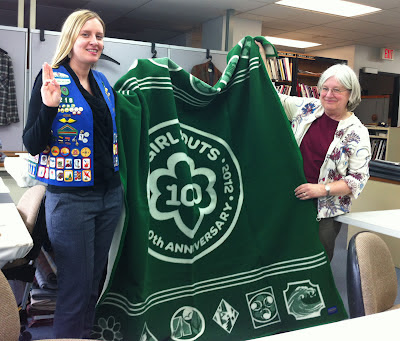 Pendleton fabric designers - and Girl Scouts!