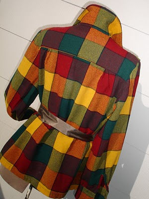 The original Pendleto 49'er jacket in a bright block plaid.