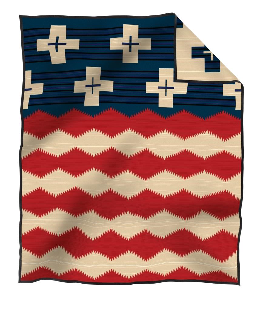 Brave Star pendleton blanket