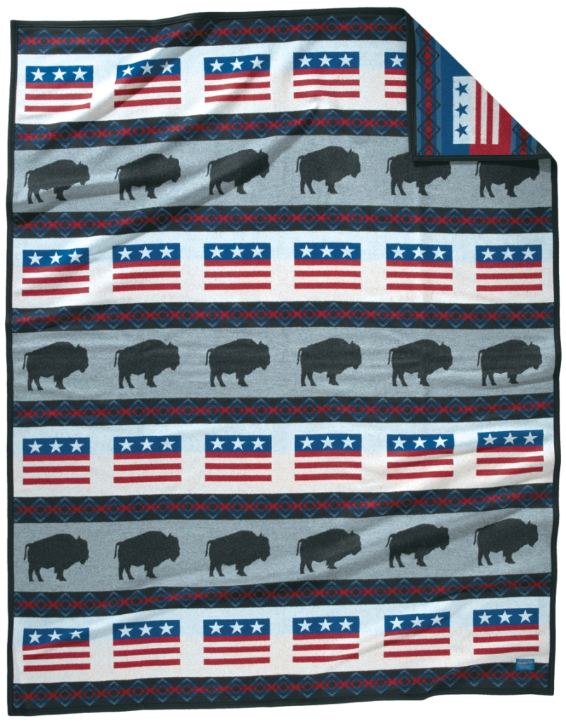 Home of the Free Pendleton blanket