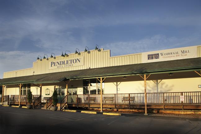 The Pendleton Mill Store at Washougal, Washington.