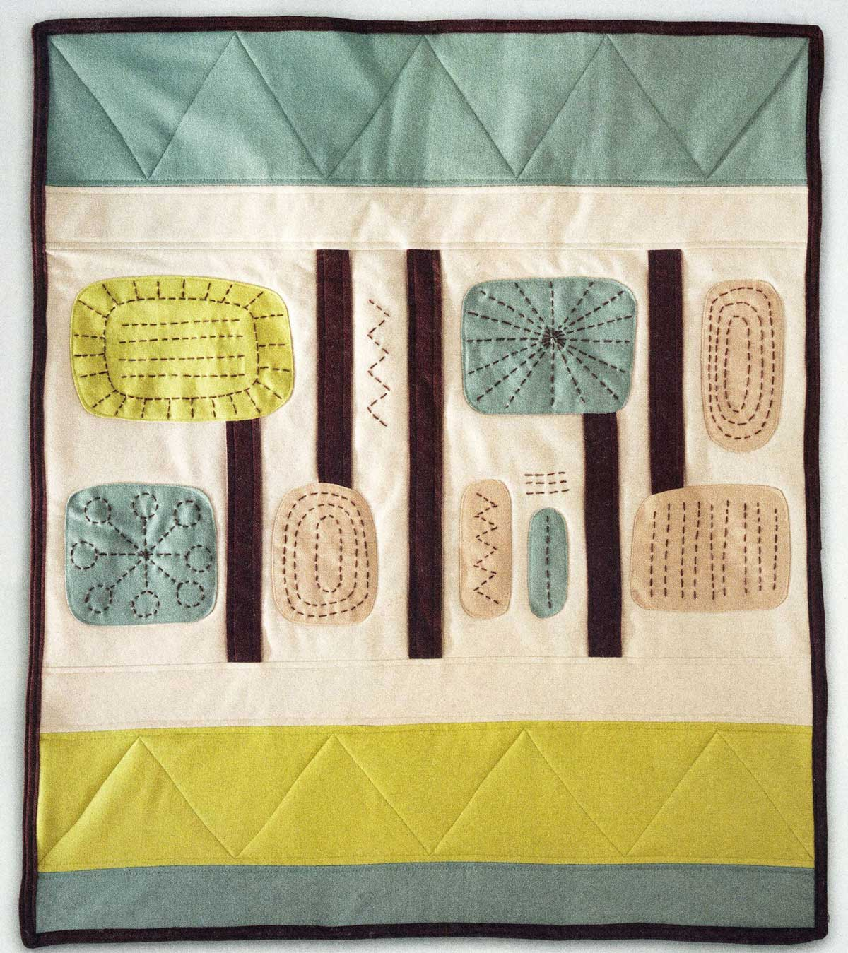 Modern Hand Quilting Patterns : Stitch magazine: creating with fabric + thread, and Pendleton, too! Pendleton Woolen Mills