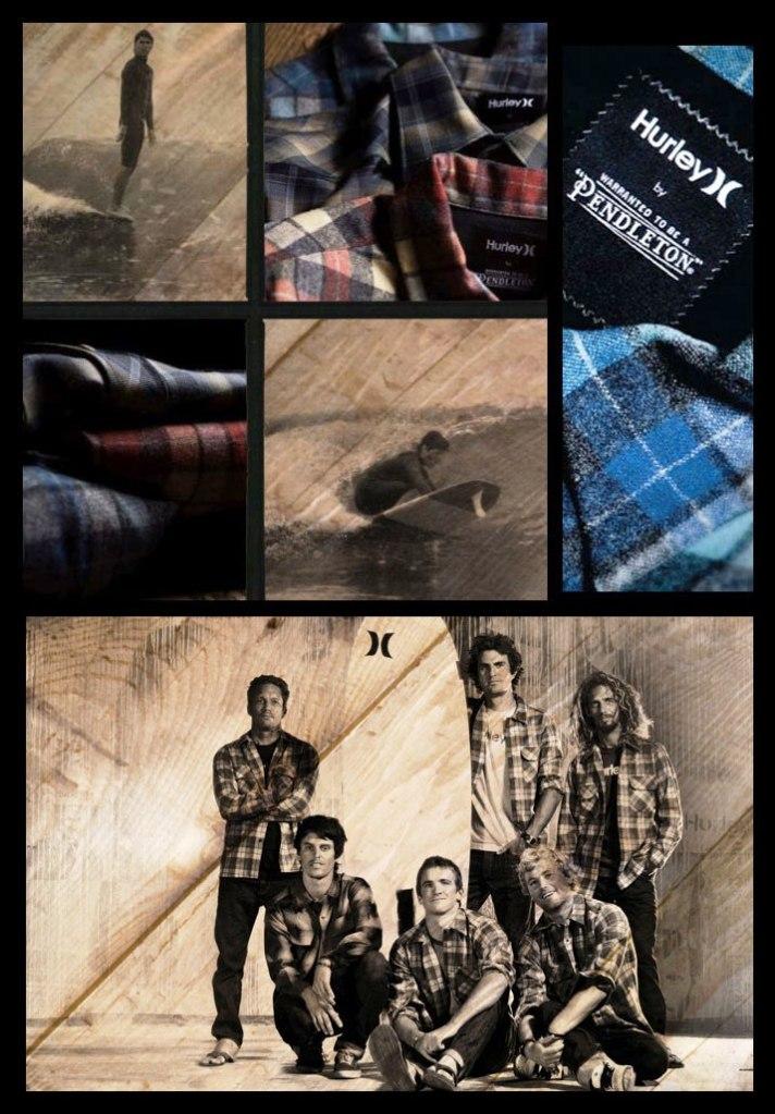 Hurley x Pendleton collaboration