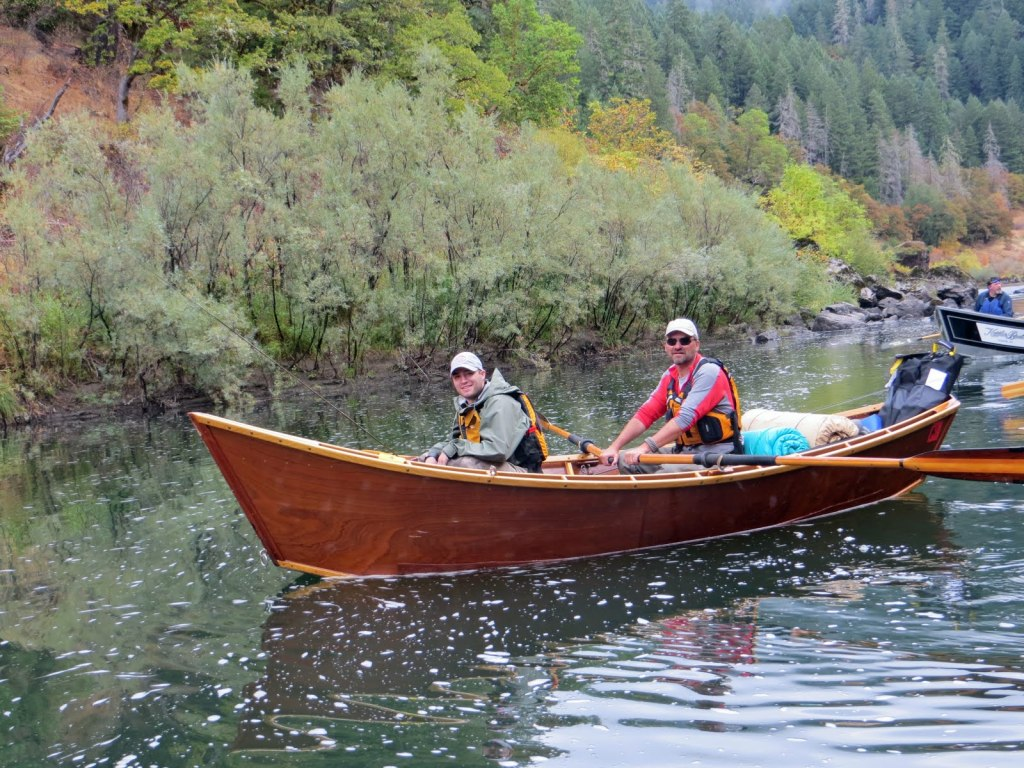 Boating on the Rogue River.