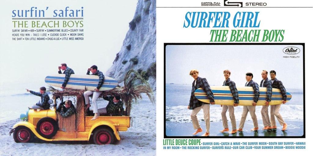 Beach Boys album covers