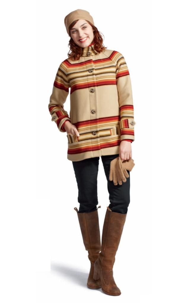 Fall 2012 Toboggan Coat for women