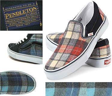 Vans x Pendleton collaboration