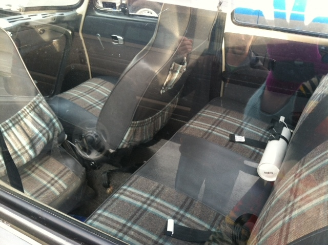 interior and back seat
