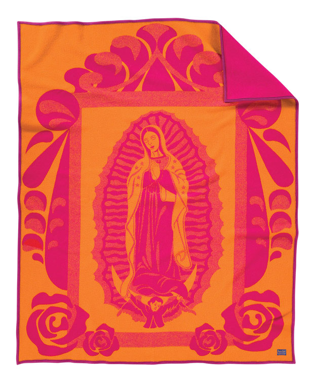 Our Lady Of Guadalupe blanket