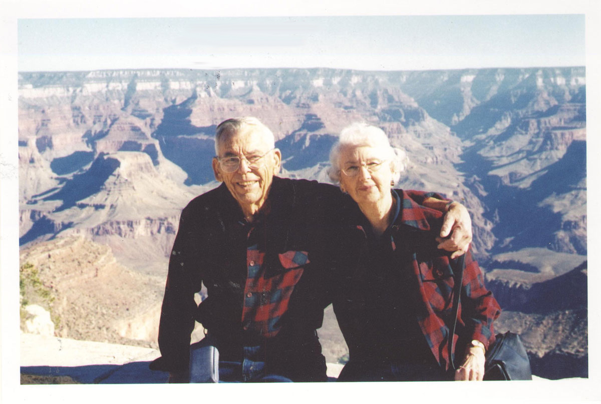 Storks Anniversary, 10/2001, at the Grand Canyon