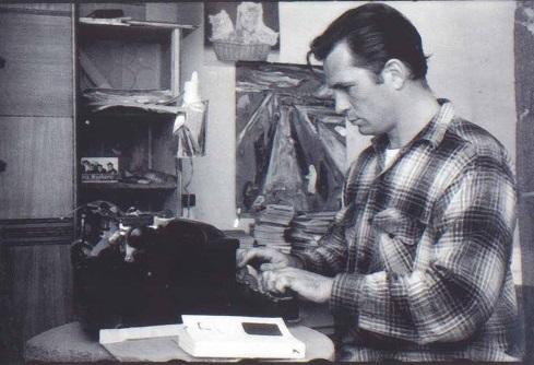 Jack Kerouac in a Pendleton shirt