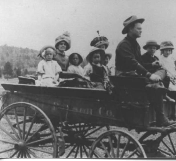 Library photo of babbitt Wagon