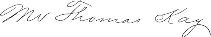 Thomas-Kay-Signature