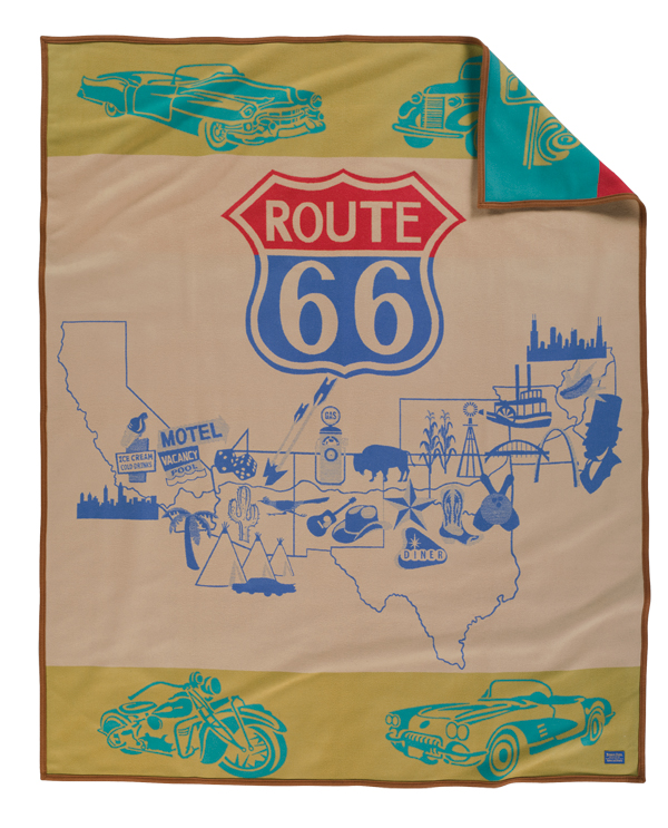 Route 66 blanket by Pendleton
