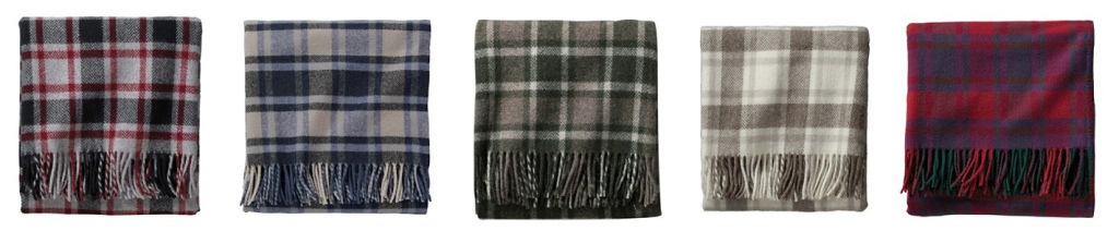 5 fringed throws