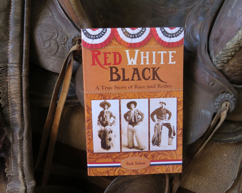 Rick Steber signs RED WHITE BLACK at the Pendleton Round-Up