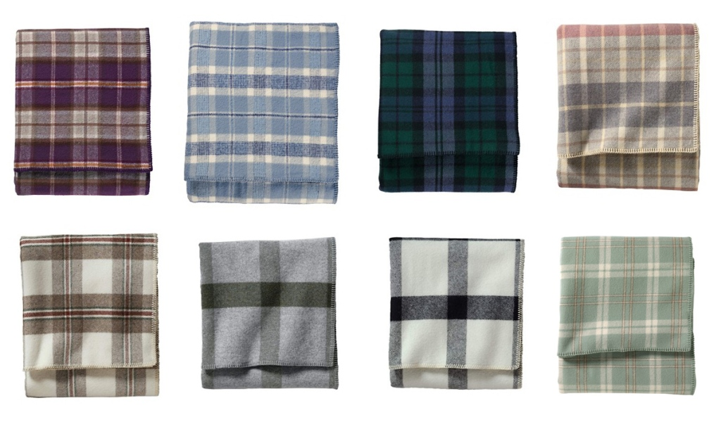 Eight Plaids blankets