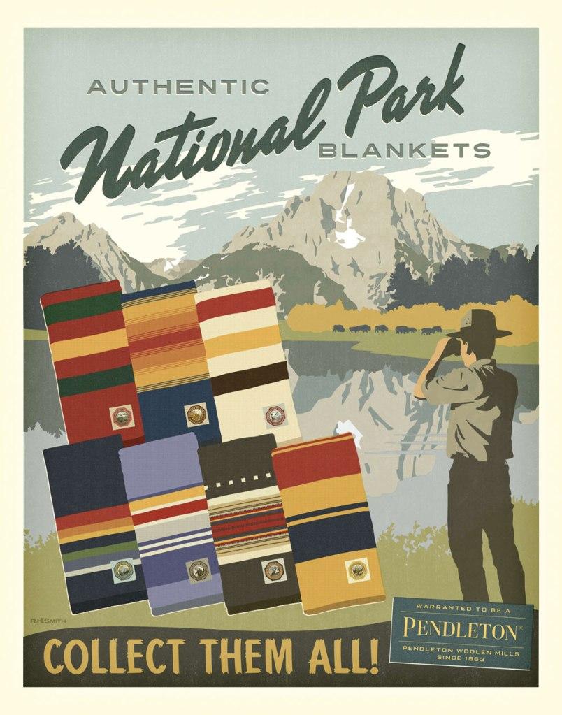 Pendleton National park blanket poster
