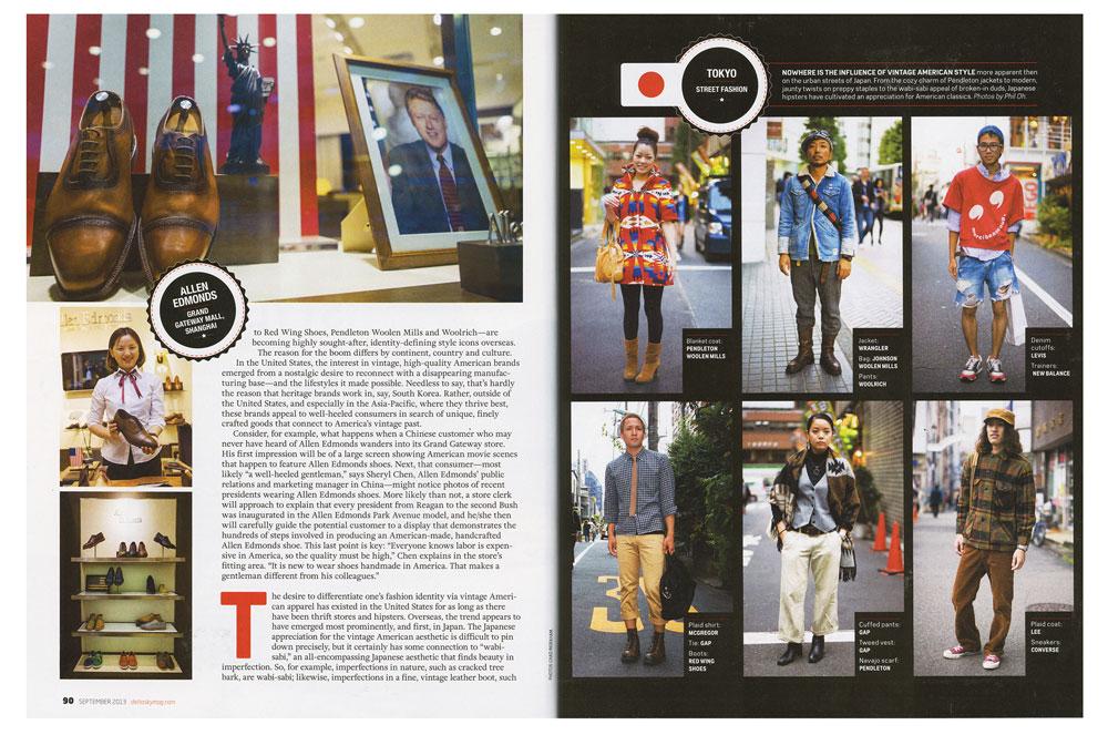 Delta Sky magazine, spread 2