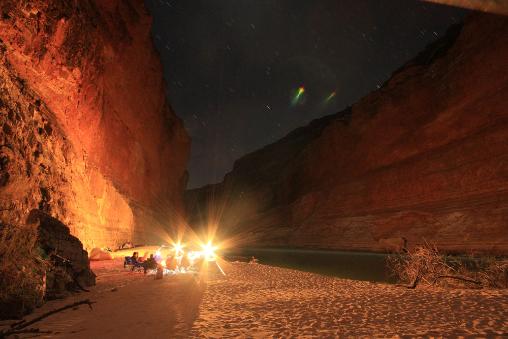 2_Nate_Pickens Photo of camping on the banks of the Colorado River