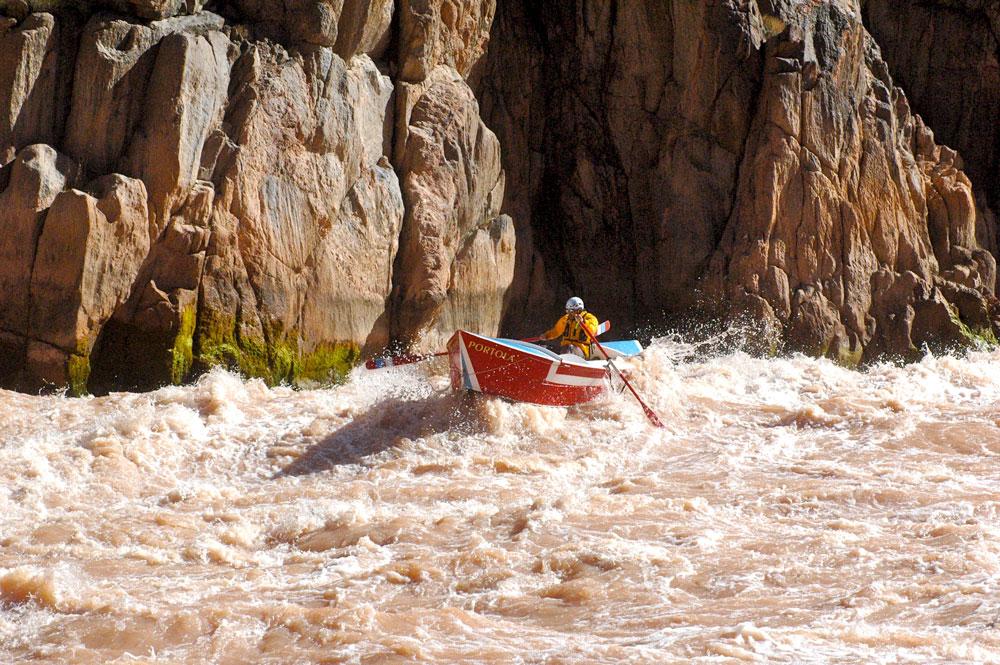 3_credit_Dave_Mortenson  Greg Hatten with his boat, the Portola