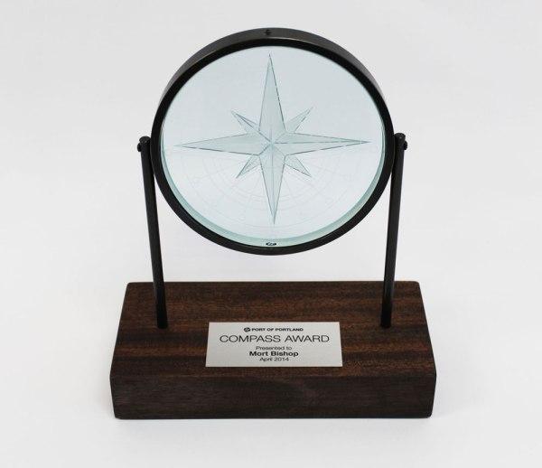 compass-award-statue