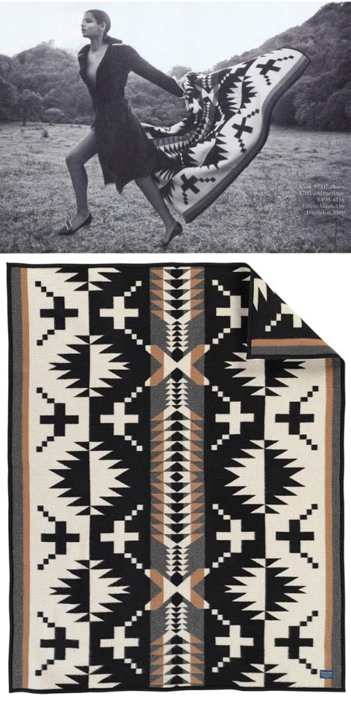 Porter magazine and the basket dance pendleton woolen mills for Net a porter usa