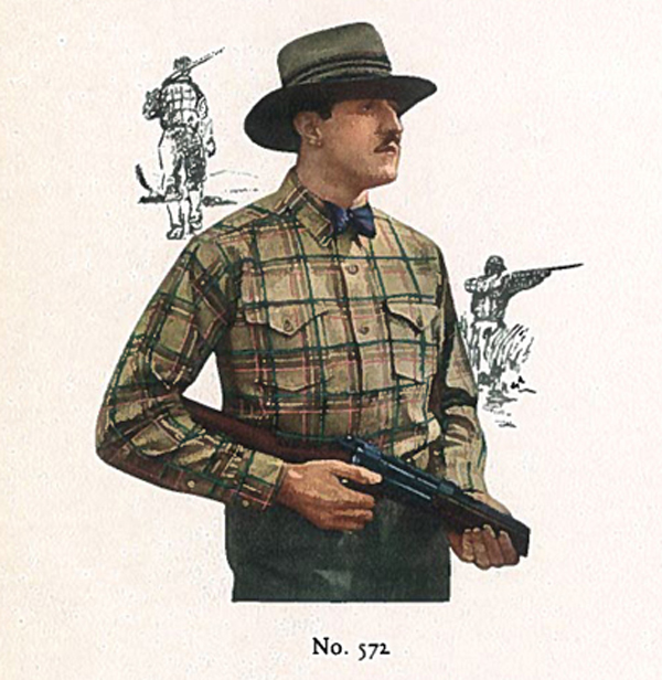 Bowtie Buckaroo illustration from 1927