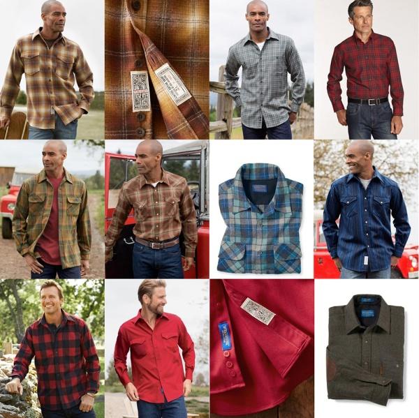 Pendleton wool shirts