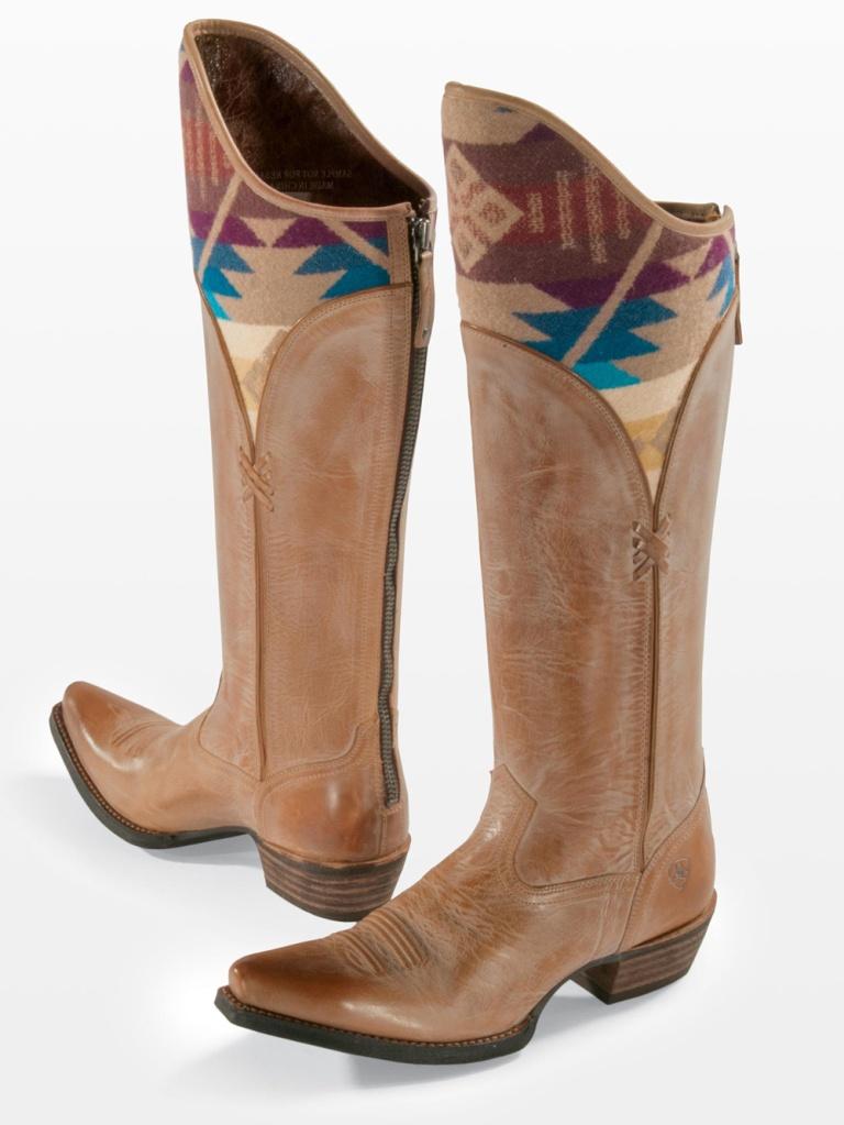 Image courtesy ARIAT, International of Pendleton x Ariat boots
