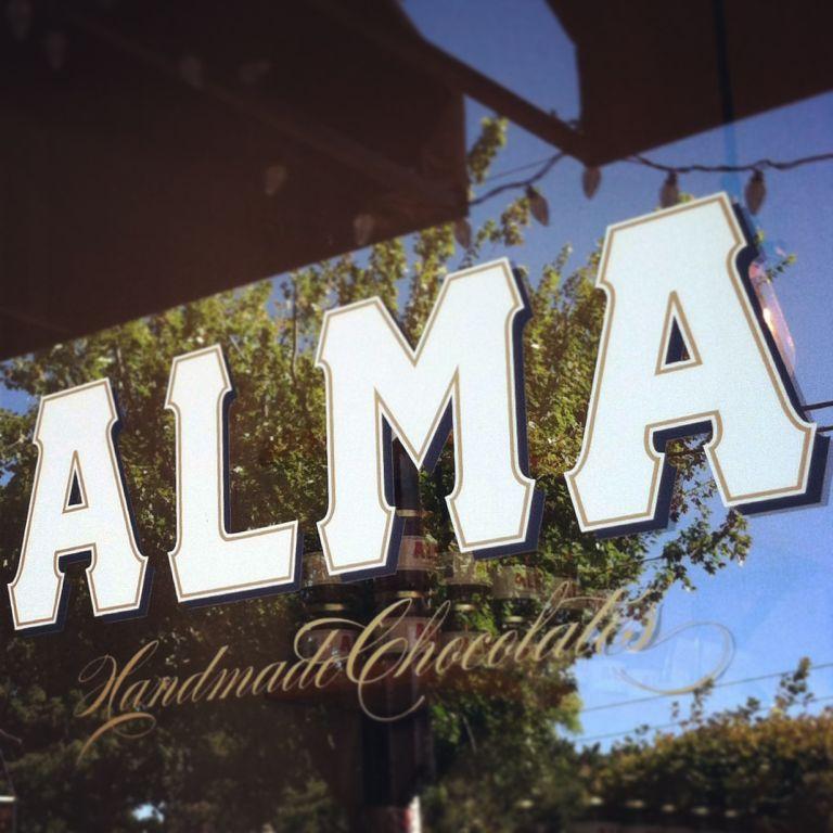 Alma store window