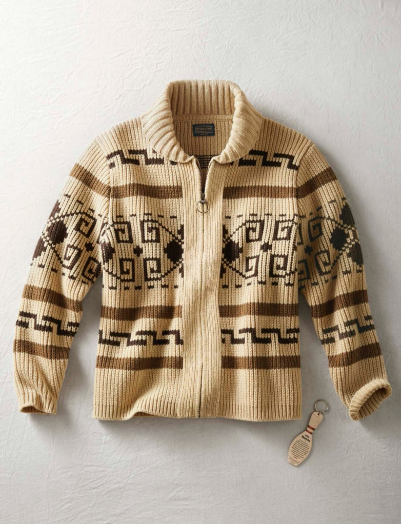 The contemporary version of Pendleton's Westerley sweater