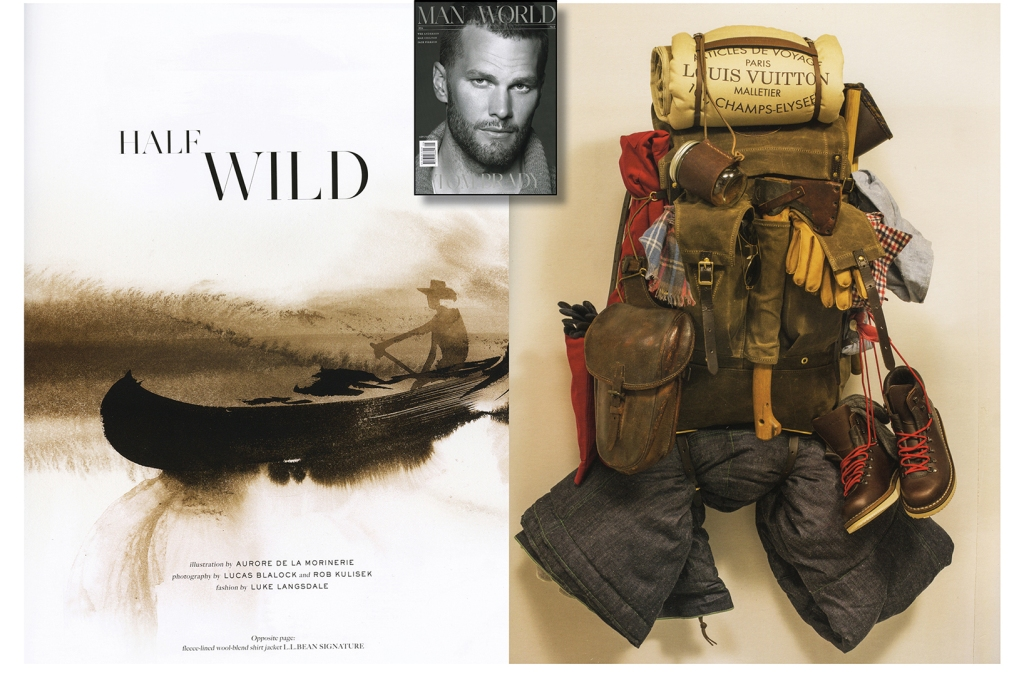 MOTW_Fall_2014_a  Spread from Fall 2014 Man of the World magazine, featuring Pendleton's Thomas Kay line.