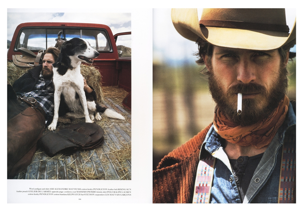 MOTW_Fall_2014_c Spread from Fall 2014 Man of the World magazine, featuring Pendleton's Thomas Kay line.