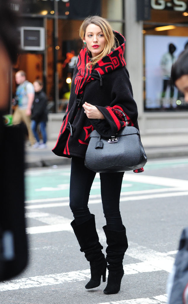 blake-lively-red-coat-nyc
