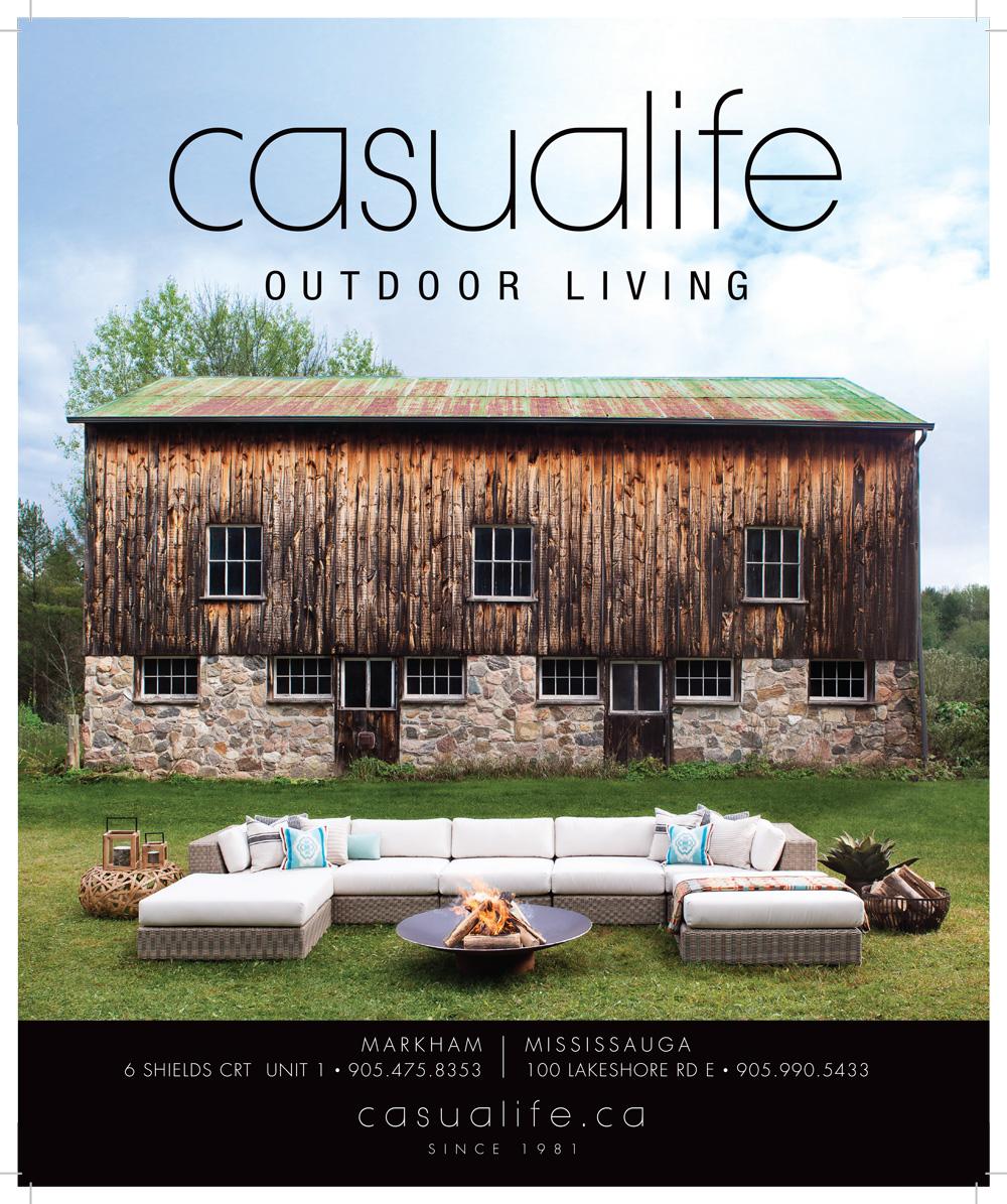 Casualife outdoor furniture ad