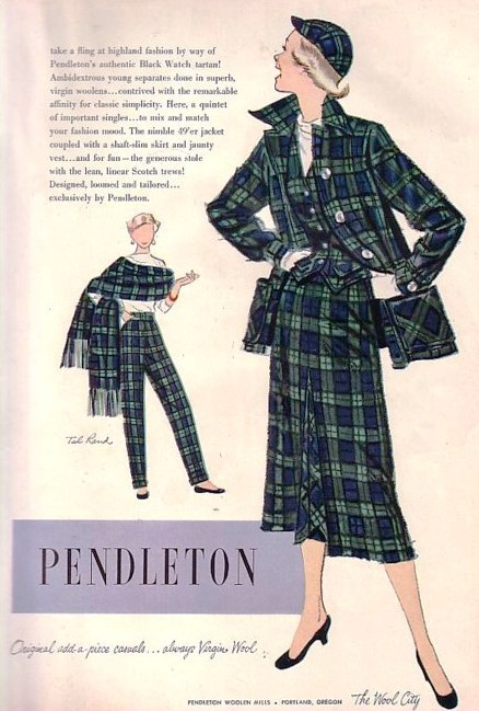 pendleton 49er 1953 ad
