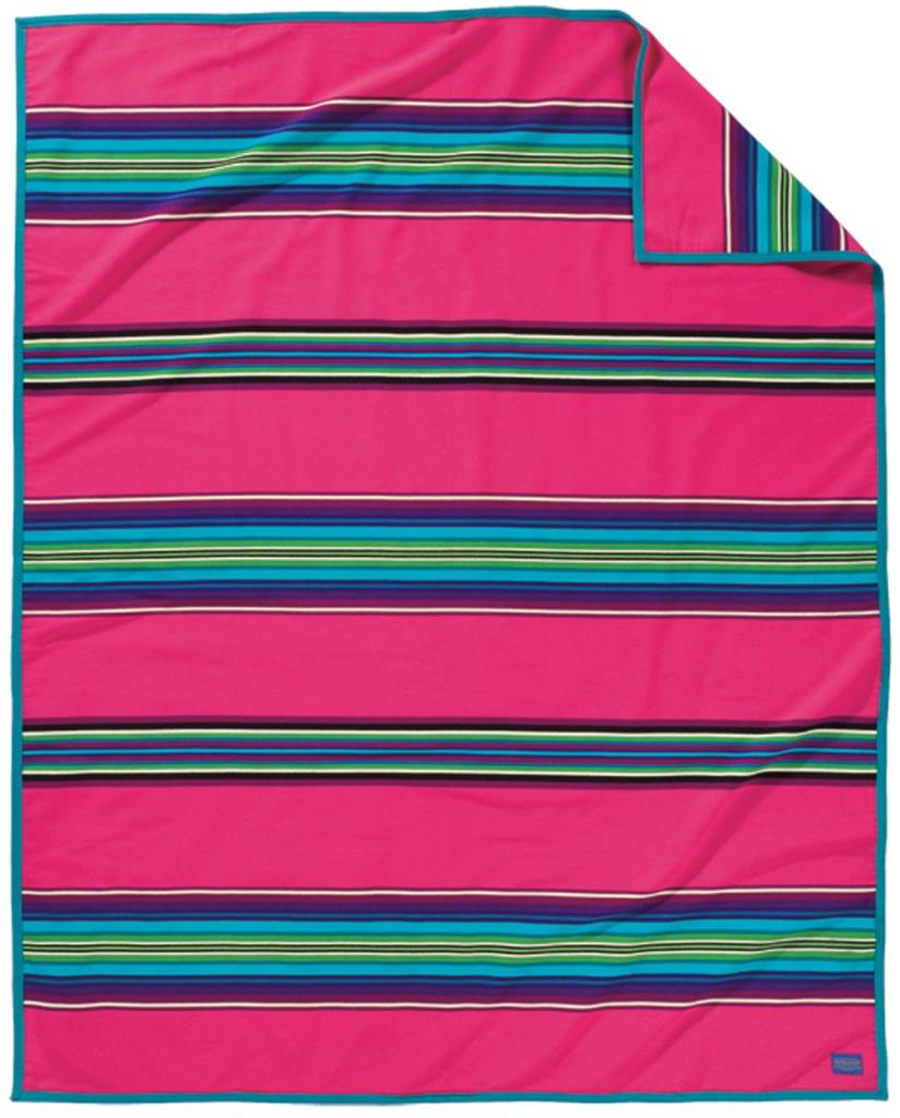 Pink serape blanket