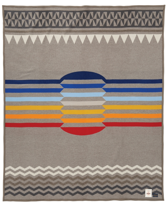 The Return of the Sun blanket for the College Fund, by Pendleton
