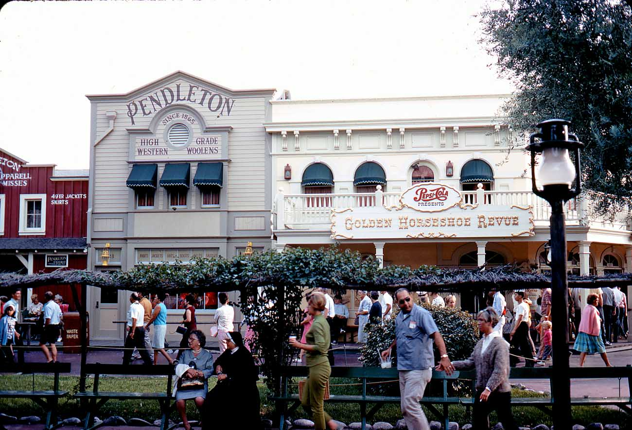 Pendleton's Frontierland store in the late 1960s.