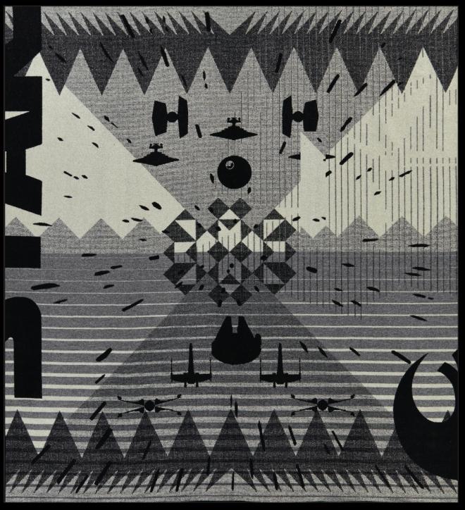 Return of the jedi Pendleton Star Wars blanket