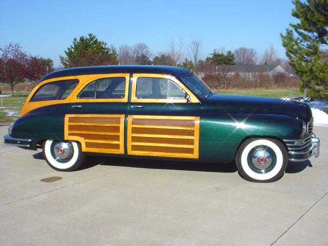 1948 Packard 8 Station Wagon Woodie Woody