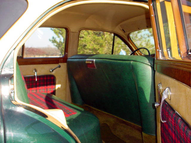 1948 Packard 8 Station Wagon Woodie Woody, interior