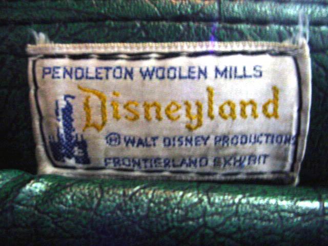 Pendleton DIsneyland label