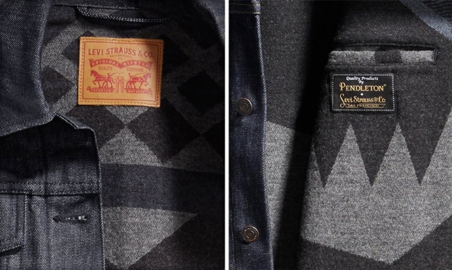 details and labels of the jackets