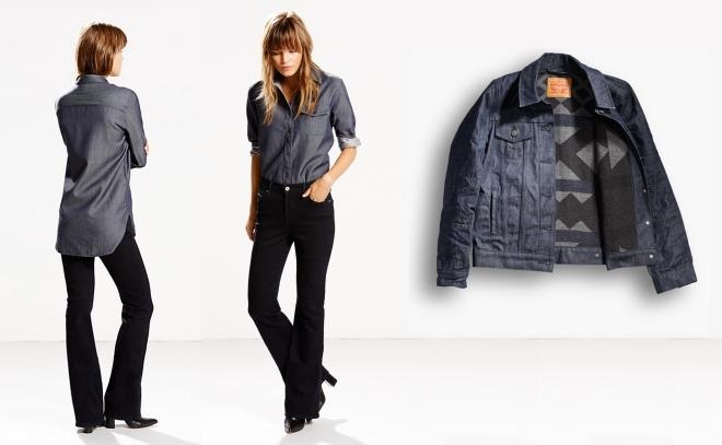 Women's shirt and jacket