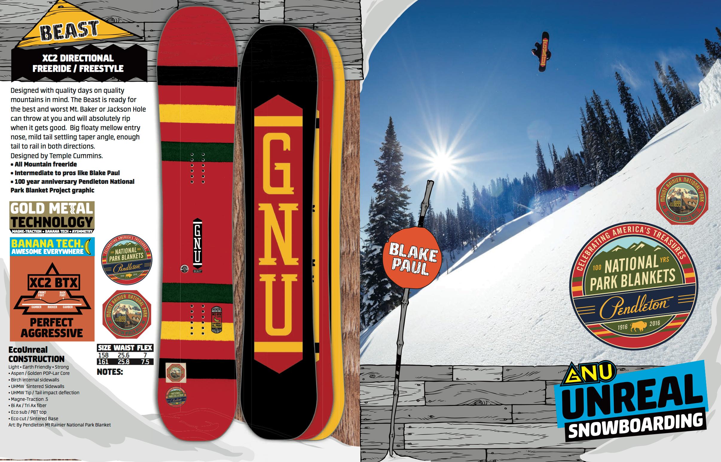 Snowboarding Magazine spread